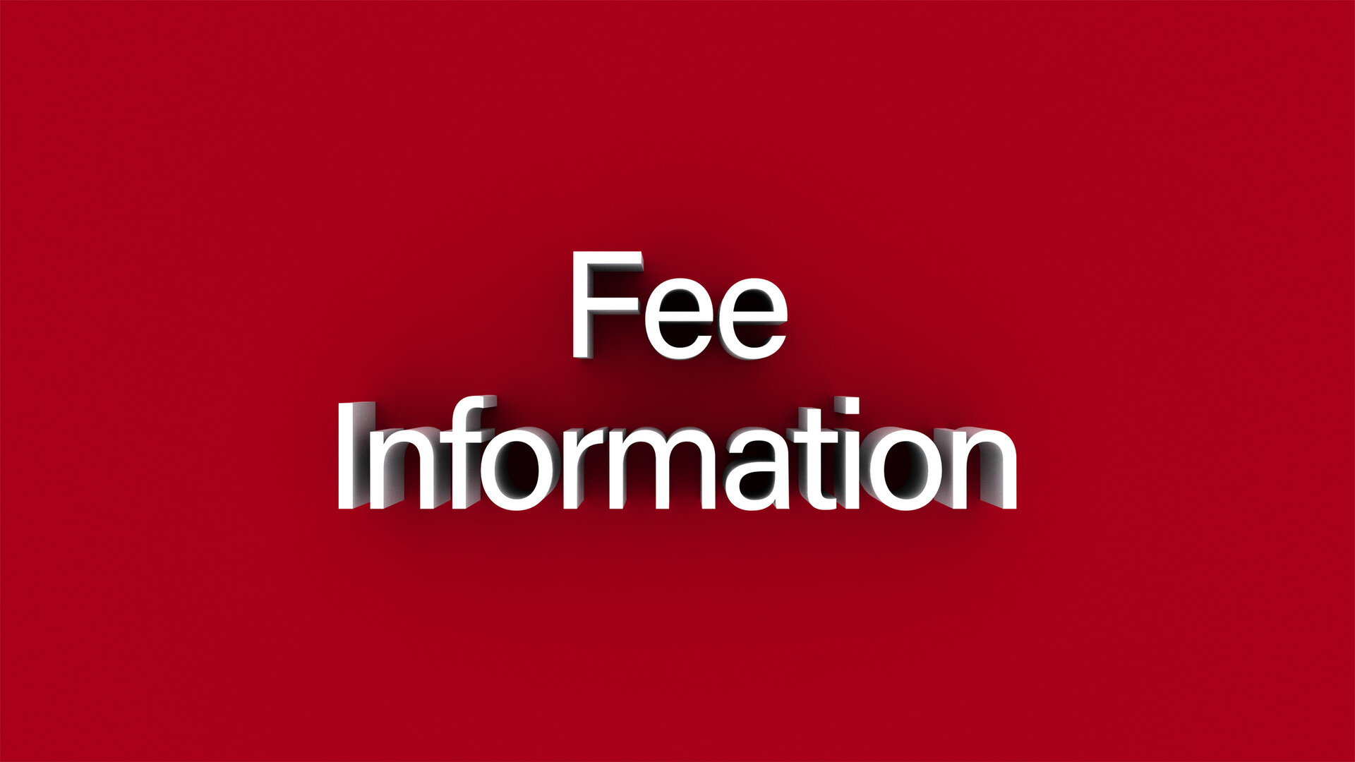 Image result for fee information